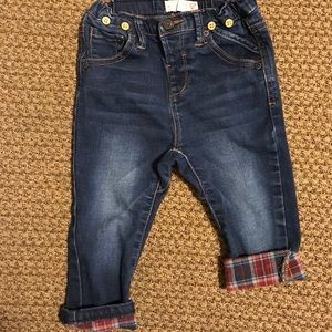 Zara- The Cutest Lined Skinny Harem Jeans!